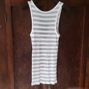 J. Crew Tops - J. Crew anchor favorite ribbed striped tank S